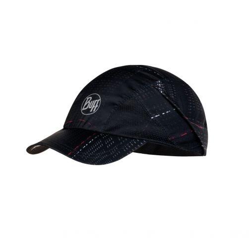 Buff---Pro-run-UV-cap-for-adults---Reflective-Logo---Black