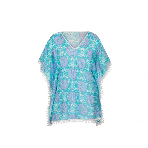 Snapper Rock - Batwing tunic for girls - Surf medallion - 0