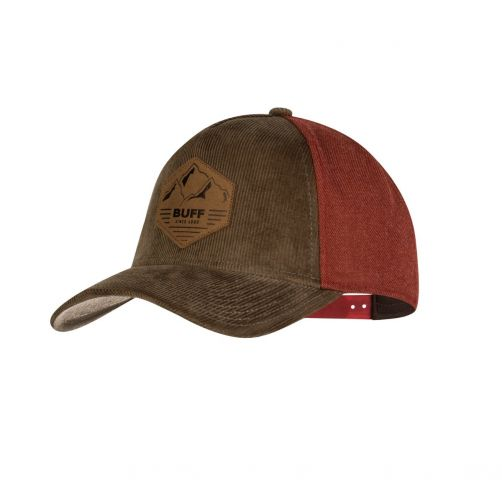 Buff---Snapback-Cap-Sergei-for-adults---Brown/Reddish-brown