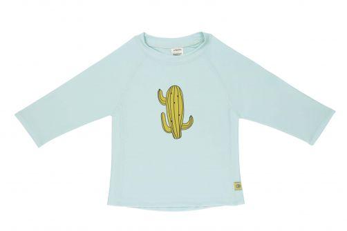 Lässig - Kids' UV swim shirt - long-sleeve - Cactus - light blue - Front