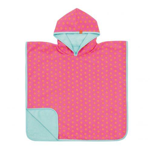 Lässig---Baby-towel-for-children-Star---Pink-/-Peach