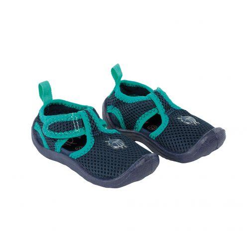 Lässig - Beach shoes for children - Dark Blue - Front