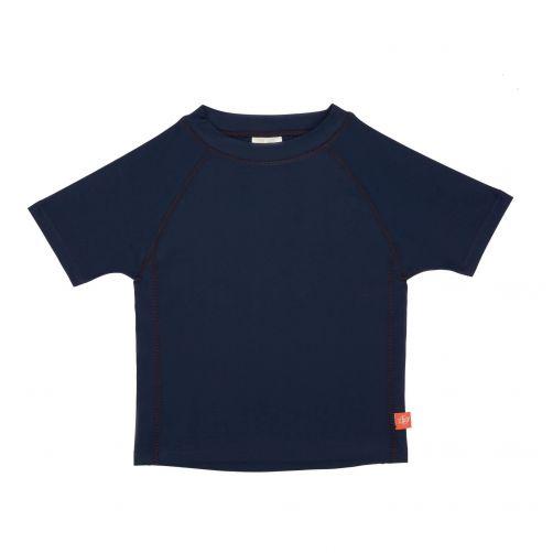 Lässig - Kids' UV swim shirt - short-sleeve - dark blue - Front