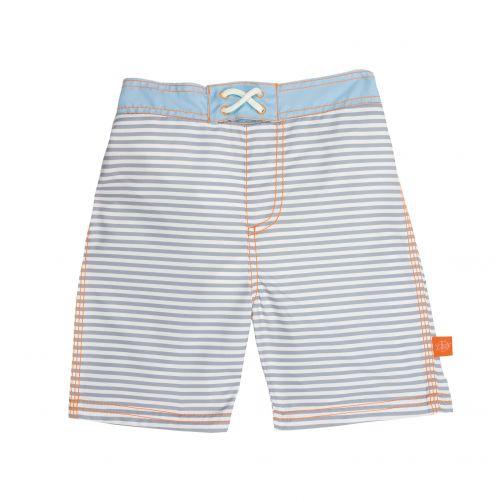Lässig - Swim shorts for boys - Small Stripes - Striped - Front