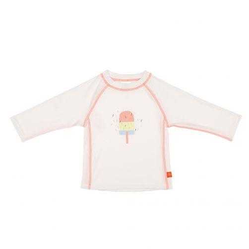 Lässig - UV swim shirt for kids long sleeves - white - Front