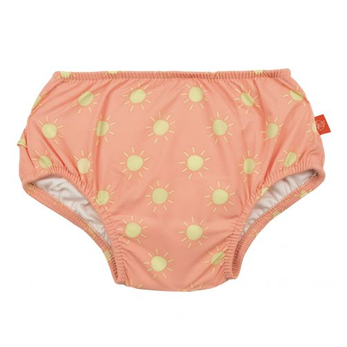 Lässig - Swim diaper baby - Sun - Peach / Yellow - Front