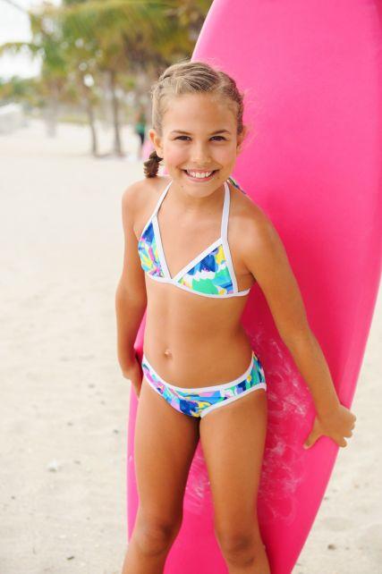 Snapper Rock - Tropical neon Bikini - 0