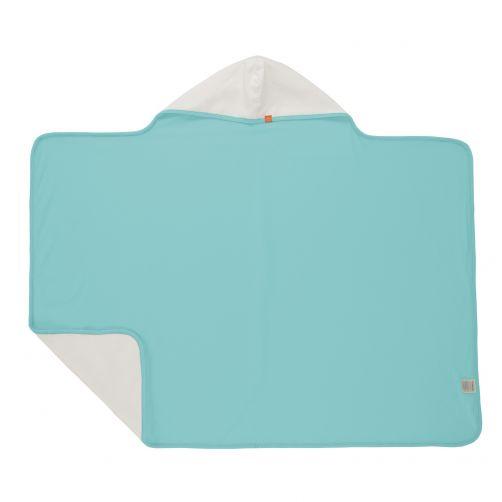 Lässig---Hooded-towel-for-children---Light-blue-/-White