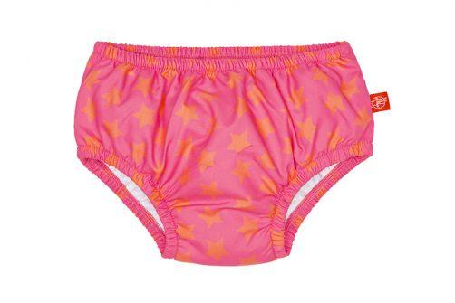 Lässig - Swim diaper baby - Star - Pink / Orange - Front