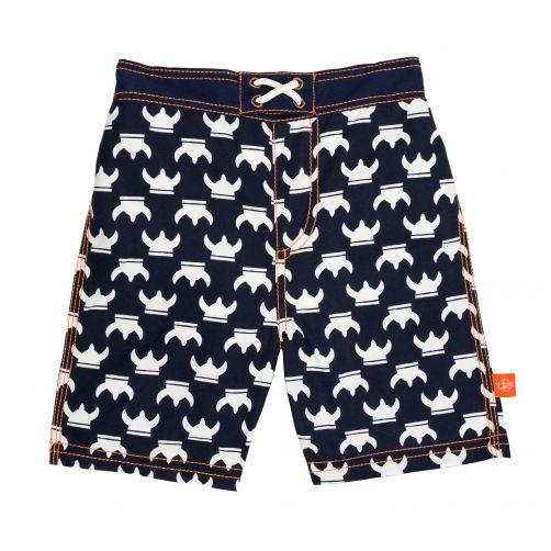 Lässig - Swim shorts for boys - Viking - dark blue - Front
