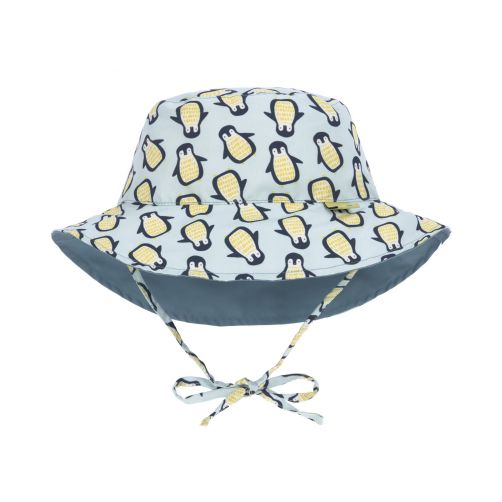 Lässig---Babies'-UV-hat-reversible---Penguin---multicolour