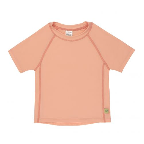Lässig - Girls' UV swim shirt - short-sleeve - peach - Front