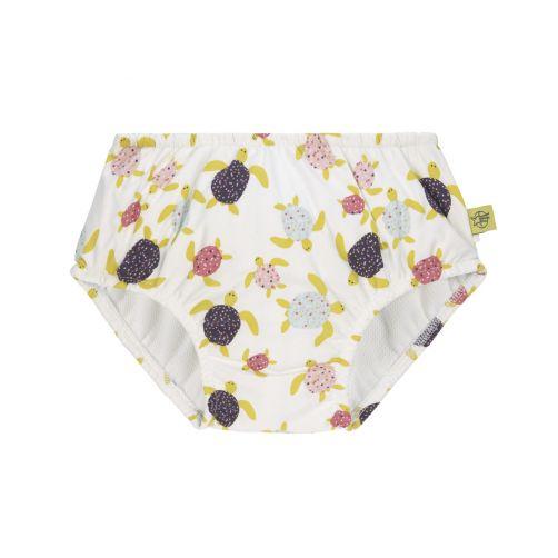 Lässig - Girl's swim diaper - Turtles - multicolour - Front