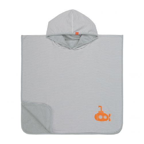 Lässig---Baby-towel-with-hood-for-children---Submarine---Gestet