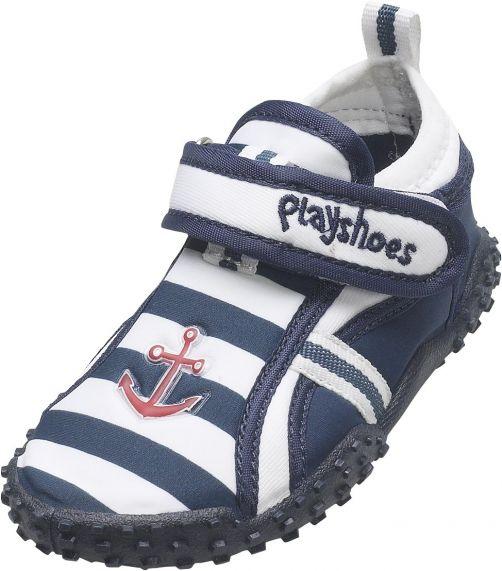 Playshoes - UV Beach Shoes Kids- Maritime - 0