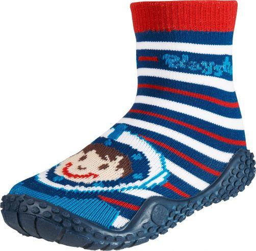 Playshoes---Swim-socks-for-children---Diver-print---Red-/-blue-/-white