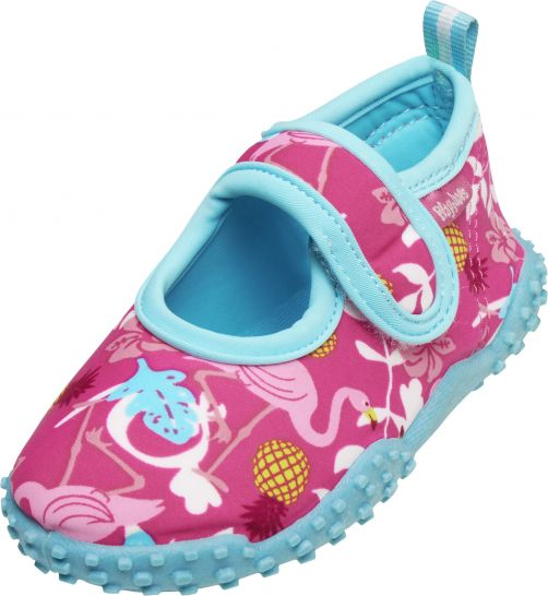 Playshoes - UV swim shoes for children - Flamingo - Pink - Front