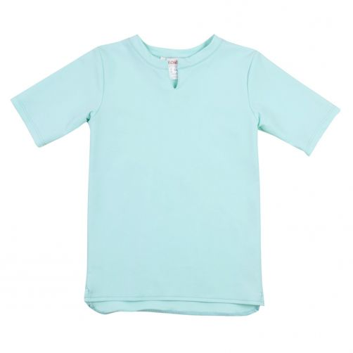 Petit Crabe - UV shirt short sleeves - Star - Mint - Front