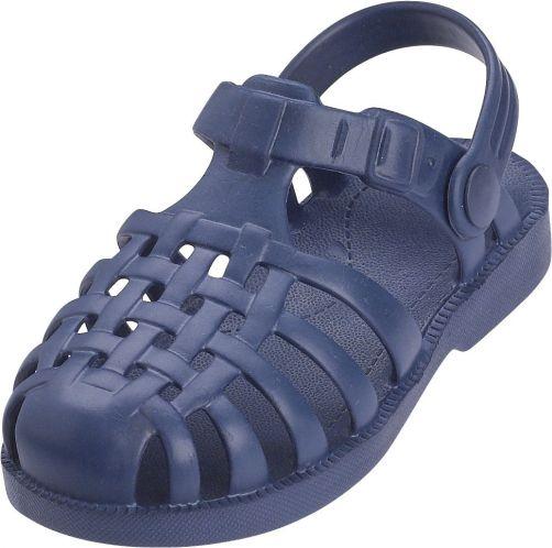 Playshoes - swim shoes for children - Beach sandals - Blue - Front