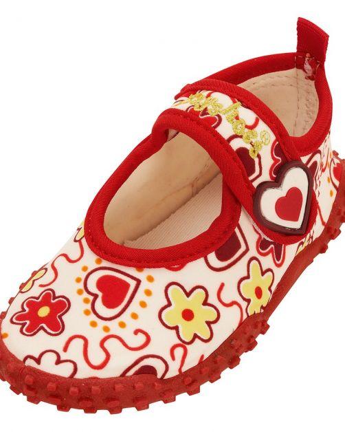 Playshoes - UV Beach Shoes Kids- Hearts - 0