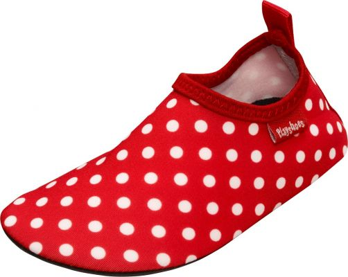 Playshoes - UV swim shoes for children - Dots - Red - Front