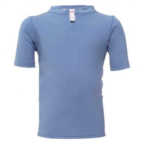 Petit Crabe - UV shirt short sleeves - Chief - Light Blue - Front