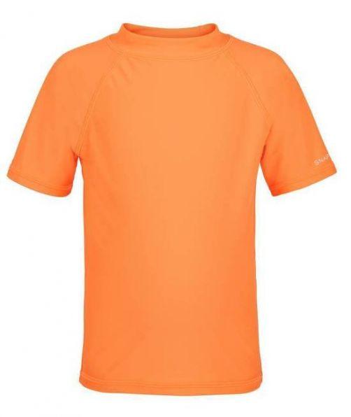Snapper Rock - Neon Orange SS Rash Top - 0