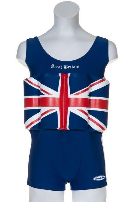 Beverly Kids - UV Floating Swimsuit Kids- Great Britain - 0