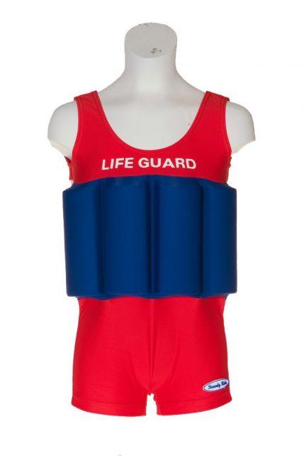 Beverly Kids - UV Floating Swimsuit Kids- Life Guard - 0