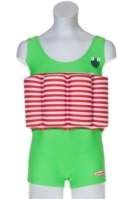 Beverly Kids - UV Floating Swimsuit Kids- Frogboy - 0
