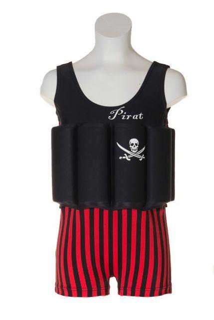 Beverly Kids - UV Floating Swimsuit Kids- Captain Jack - 0