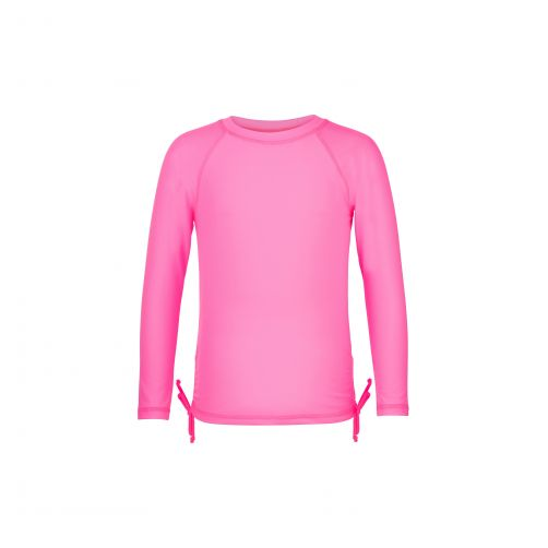 Snapper Rock - Neon Pink LS Rash Top - 0