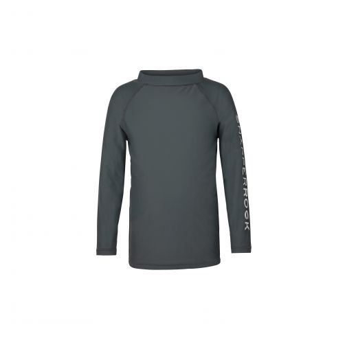 Snapper Rock - Graphite LS Rash Top SR Sleeve - 0