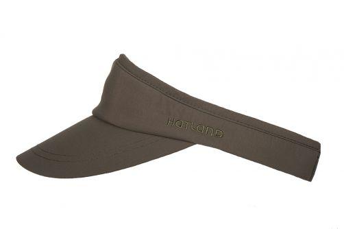 Hatland---Cooling-Visor-cap-for-men---Novel---Olivegreen
