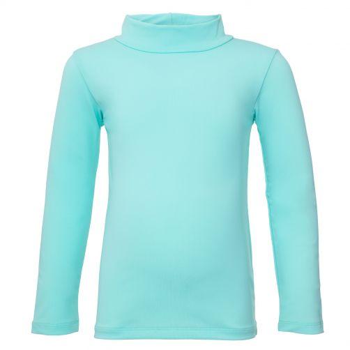 Petit Crabe - UV Swim shirt longsleeve - Dolphin - Mint - Front
