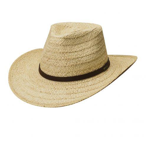 Scala---UV-safari-hat-for-men---Natural