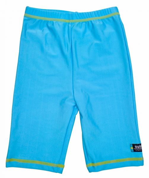 Swimpy---UV-Swim-Shorts-Kids---Turquoise-Blue