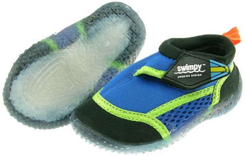 Swimpy UV Swim Shoes Kids- Blue - 0