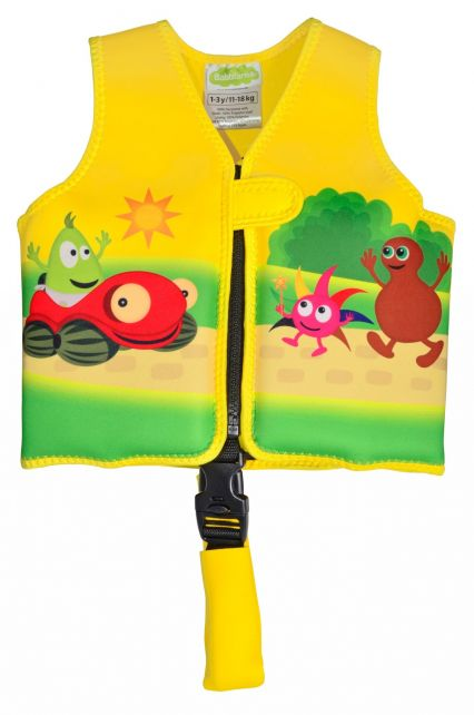 Swimpy---Swim-vest-for-toddlers-1---3-years---Babblarna---Yellow