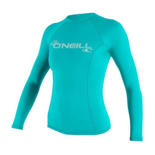 O'Neill---Women's-UV-shirt---Longsleeve---Basic-Rash---Aqua