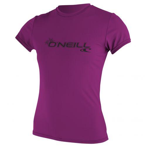 O'Neill---Women's-UV-shirt---short-sleeve-slim-fit---pink