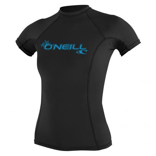 O'Neill---Women's-UV-shirt---short-sleeve-performance-fit---black