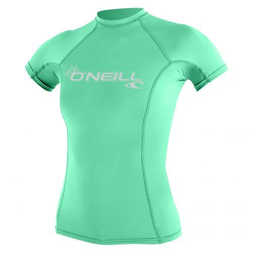 O'Neill---Women's-UV-shirt---short-sleeve-performance-fit---green