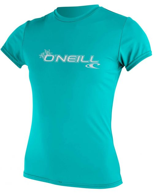 O'Neill---Women's-UV-shirt---Short-sleeves---Basic-Sun---Aqua