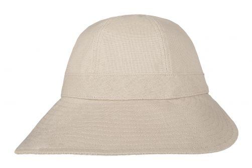 Hatland---UV-Cloche-sun-hat-for-women---Verony---Beige