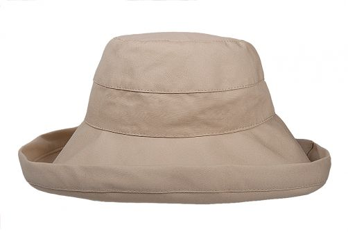 Hatland---UV-Bucket-sun-hat-for-women---Valerie---Beige