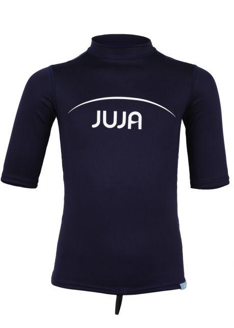 JuJa - UV swim shirt for children - short-sleeve - navy - Front