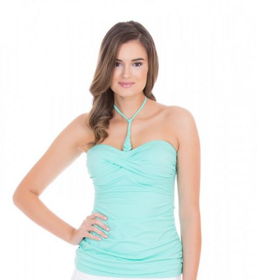 Cabana-Life---UV-resistant-3-ways-Tankini-Top-for-ladies---Green
