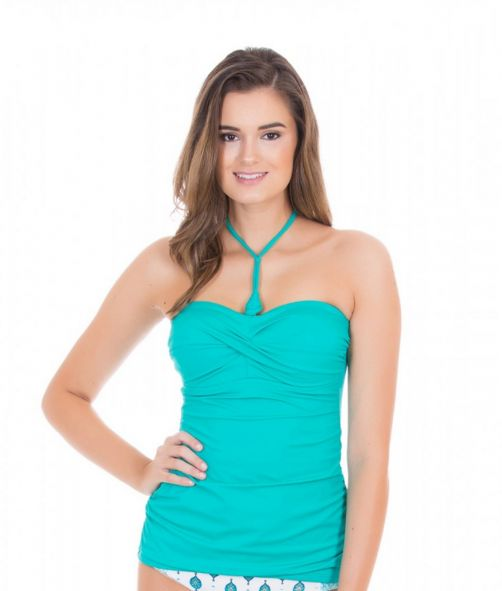 Cabana-Life---UV-resistant-3-ways-Tankini-Top-for-ladies---Turquoise