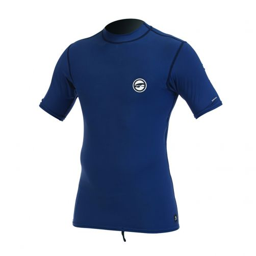 Prolimit---Swim-shirt-for-men-with-short-sleeves---Blue